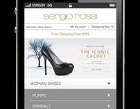 WWW.SERGIOROSSI.COM _ Mobile Online Store