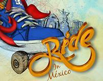 DC Ride in México. Advertising