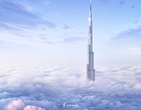 828m Dubai Sky City