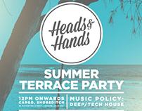 Heads & Hands Summer Terrace Party