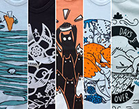 Illustration & t-shirts Lince