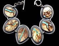 Jewelry:  Gemstones, Fossils & Found Objects