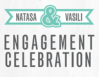 Engagement Invitation // Natasa & Vasili