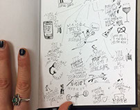 Public Sketchbook Diary