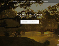 Palmetto Bluff Website Concept