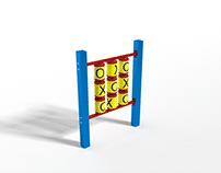 Playground Tic Tac Toe Metal - kółko i krzyżyk Metal