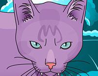 Satan, the cat