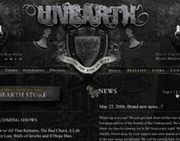 Unearth Website
