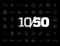 10 years in 50 brands.