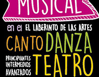 Flyer Comedia musical