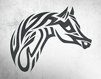 Arabian Horses - Calligraphy
