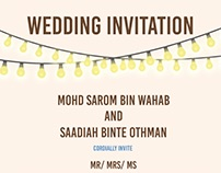 GRAPHICS | Wedding Card invitation