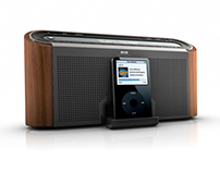 Modern-retro DAB Radio Design