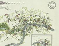 Zizzi London Map