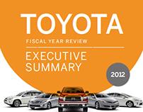 Toyota - Infographic