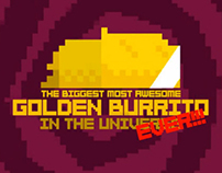 The Biggest Awesome Golden Burrito In The Universe
