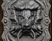 Lion-head Door knocker