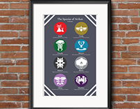 Poster and Icon Design // Fantasy Concept Work