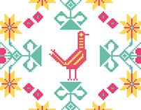 8-bit textil