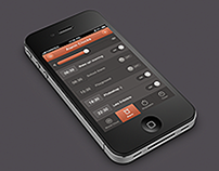iPhone Alarm Clocks App Design