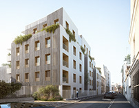 Social Housing Project in Saint-Denis, France