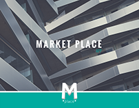 Market Place \\ Design \\ App