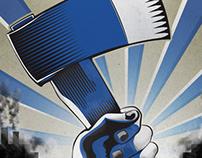Øksen propaganda poster