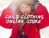 Child clothing online store.