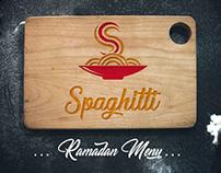 Ramadan Menu - Spaghitti