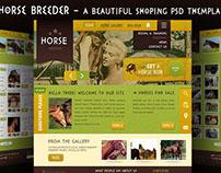 Шаблон Horse breeder