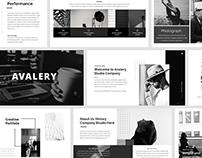 Avalery - Business Presentation Template