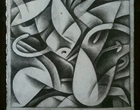 Drawing-A-Day: an improv, abstract drawing series