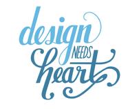 design needs heart