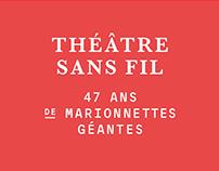 Théâtre Sans Fil - Identity and Signage