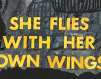 SHE FLIES WITH HER OWN...