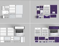 Branding Stationery Mockups - 10 mockup templates