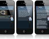 SanJo Security Services - Mobile, Webdesign
