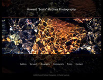 "Howard ""Boots"" McGhee Photography, Web Design"