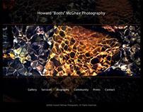"Howard ""Boots"" McGhee Photography, Web Design"