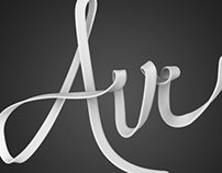 Air Lace 3D Typography