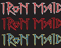 Iron Maiden logo reimagined