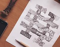 Hand drawn STREETHYPESTORE LOGO