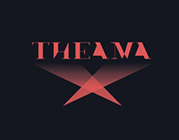 Logo & Brand Identity | Theama (Entertainment Company)