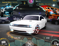 Gameloft Game Project UI/UX Design