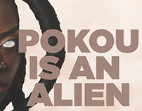 POKOU IS AN ALIEN
