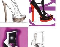 Shoe Illustrations published on Ars Arpel magazine
