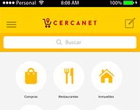 Cercanet Mobile App - Aplicación Mobile híbrida