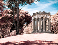 El Capricho infrared photography