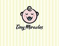 Tiny Miracles Baby Apparel Logo