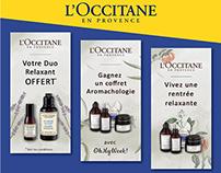 Web banners – L'Occitane